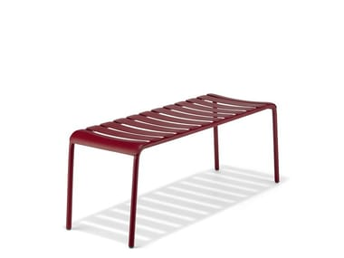 Backless plate bench seating STECCA 8