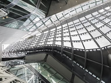 Costruzioni in acciaio e vetro Costruzioni in acciaio e vetro