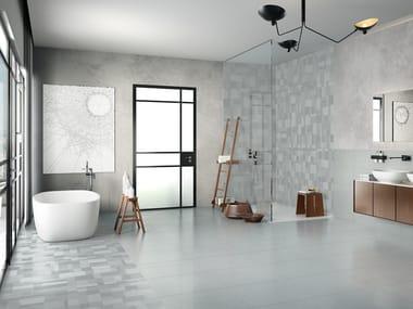 Pavimento in gres porcellanato STEELISTIC GINZA