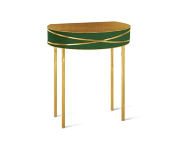 Demilune lacquered console table STELLA | Console table