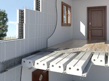 """Vigota treliçada para laje de betão armado Floor slab """"STEP system"""""""