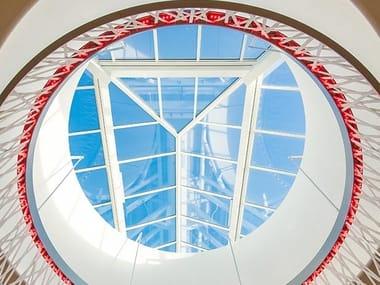 Finestra da tetto in acciaio e vetro STEP