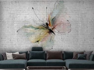 Papel de parede ecológico com suporte de reboco STILL LOVE SL 43