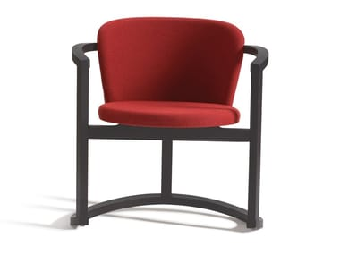 Fabric easy chair with armrests STIR 383