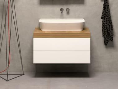 Mobile lavabo sospeso con cassetti STIVA | Mobile lavabo sospeso
