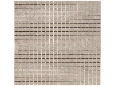 Rivestimento in ceramica a pasta bianca effetto pietra STONE_ART | Mosaico Moka