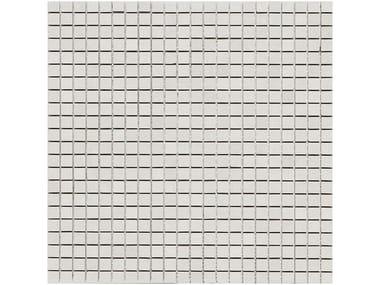 Rivestimento in ceramica a pasta bianca effetto pietra STONE_ART | Mosaico Steel