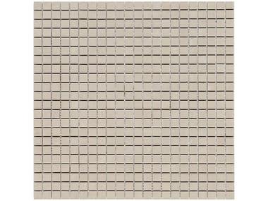 Rivestimento in ceramica a pasta bianca effetto pietra STONE_ART | Mosaico Taupe