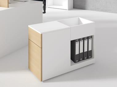 Office drawer unit STONE BLOCK XL | Office drawer unit