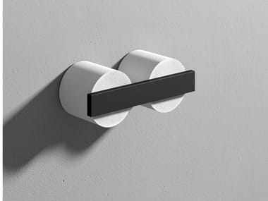 Double Corian® toilet roll holder STONE | Double toilet roll holder