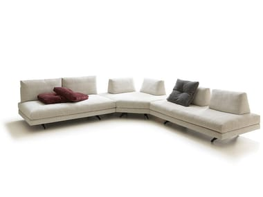 Corner sectional fabric sofa STONE | Fabric sofa