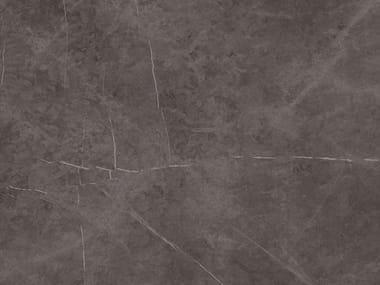 Pavimento/rivestimento in ceramica tecnica effetto marmo per interni ed esterni STONE GREY