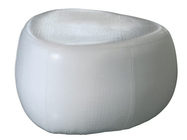 Upholstered pouf STONE