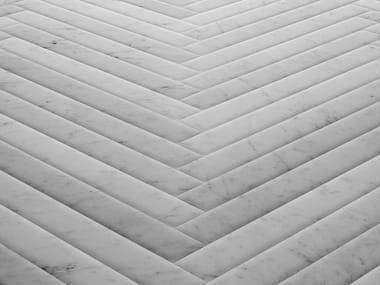 Natural stone flooring STONE PARQUET