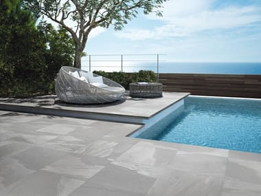 Porcelain stoneware outdoor floor tiles STONEWORK  T20