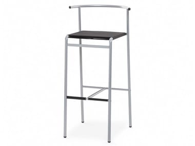 High powder coated steel barstool CAFÈ CHAIR | Stool