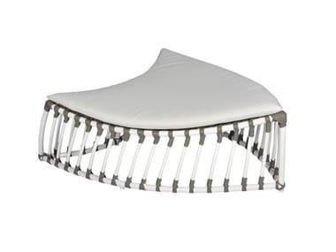 Aluminium stool / garden footstool FOGLIA | Stool