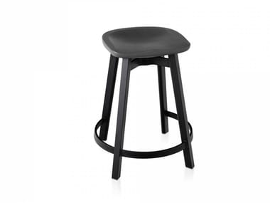 Stool with footrest SU | Stool with footrest