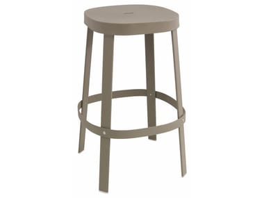 High stainless steel garden stool THOR | Stool