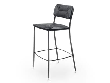 High stool with footrest FIRST STEPS | Stool
