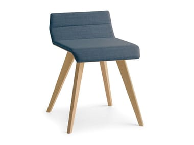 Contemporary style low upholstered stool METRIA | Stool