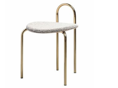 Low upholstered stool MICHELLE | Upholstered stool