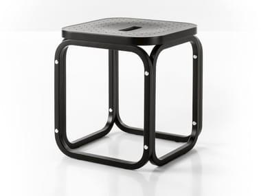 Beech stool POSTPARKASSE | Stool
