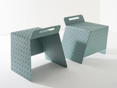Low plate stool STREET | Stool