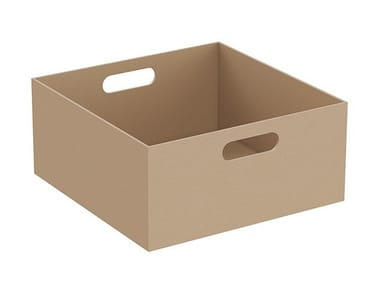 Leather storage box EQUAL | Storage box