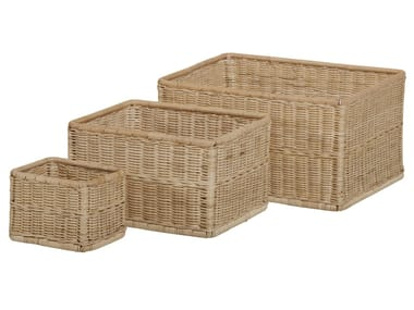 Rattan storage box VANNERIE | Storage box