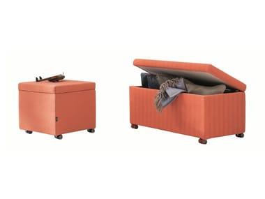 Storage fabric pouf Storage pouf