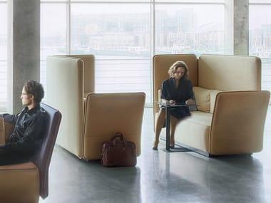 2-er Sofa mit hoher Rückenlehne STREAM CONTRACT