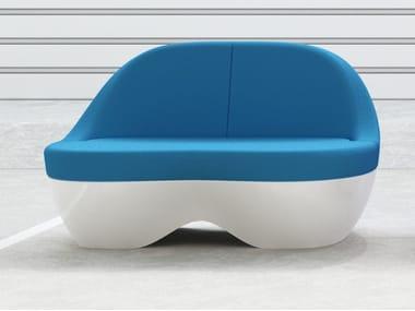 Fabric armchair STREEM | Armchair