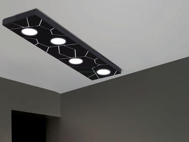 Modular ceiling light STREET SYSTEM | Ceiling light