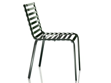 Stackable chair STRIPED | Chair