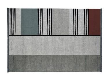 Rectangular rug STRIPES