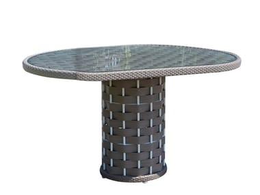 Mesa redonda para jardín para restaurantes STRIPS 23213