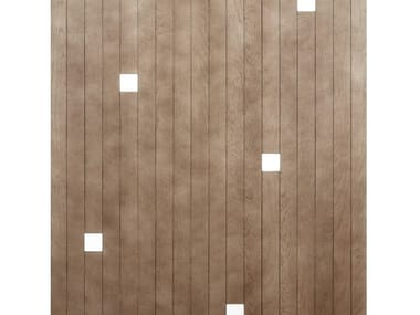 Oak and marble wall/floor tiles STRISCE