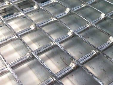Grigliato calpestabile elettrosaldato in acciaio STRONG
