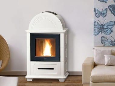 Pellet steel stove Class A+ STUBOTTO C