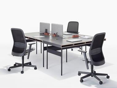 Scrivanie per ufficio in materiale sintetico archiproducts