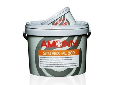 Adesivo epossi-poliuretanico per pavimenti in legno STUFEX PL 200
