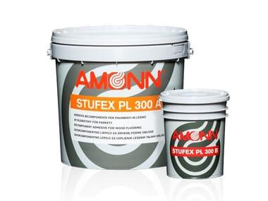Adesivo epossi-poliuretanico per pavimenti in legno STUFEX PL 300