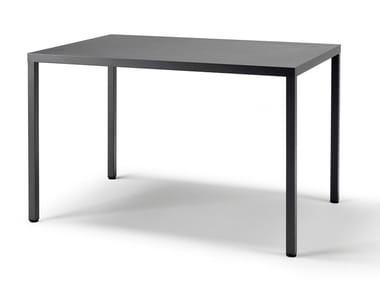 Rectangular steel table SUMMER | Rectangular table