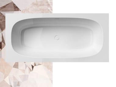 Vasca da bagno rettangolare in Solid Surface SUMMERTIME 185