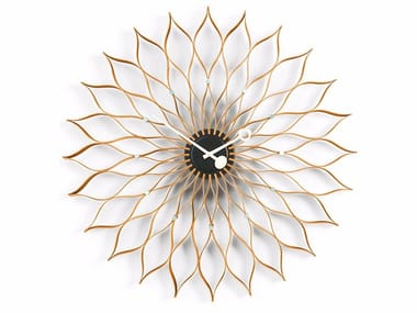 Wall-mounted clock SUNFLOWER CLOCK