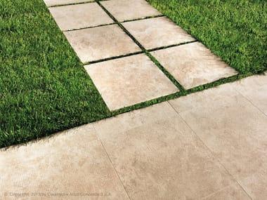 Pavimento per esterni in gres porcellanato effetto pietra SUNROCK | Pavimento per esterni