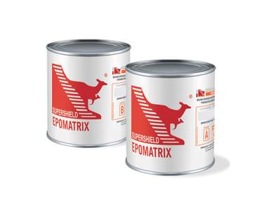 Bi-component epoxy sealant for fixing EPOMATRIX