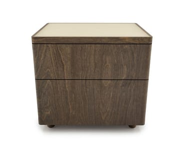 Birch bedside table with drawers SURFACE | Bedside table