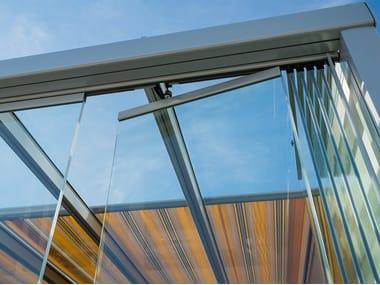Sliding glass facade SV1025 | Glass facade